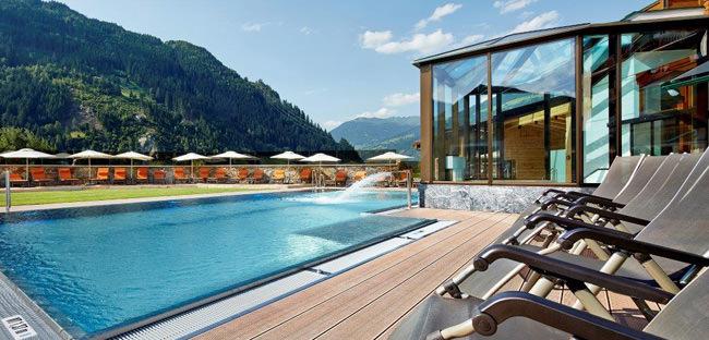 Freischwimmbad - Ferienhotel Sonnenhof